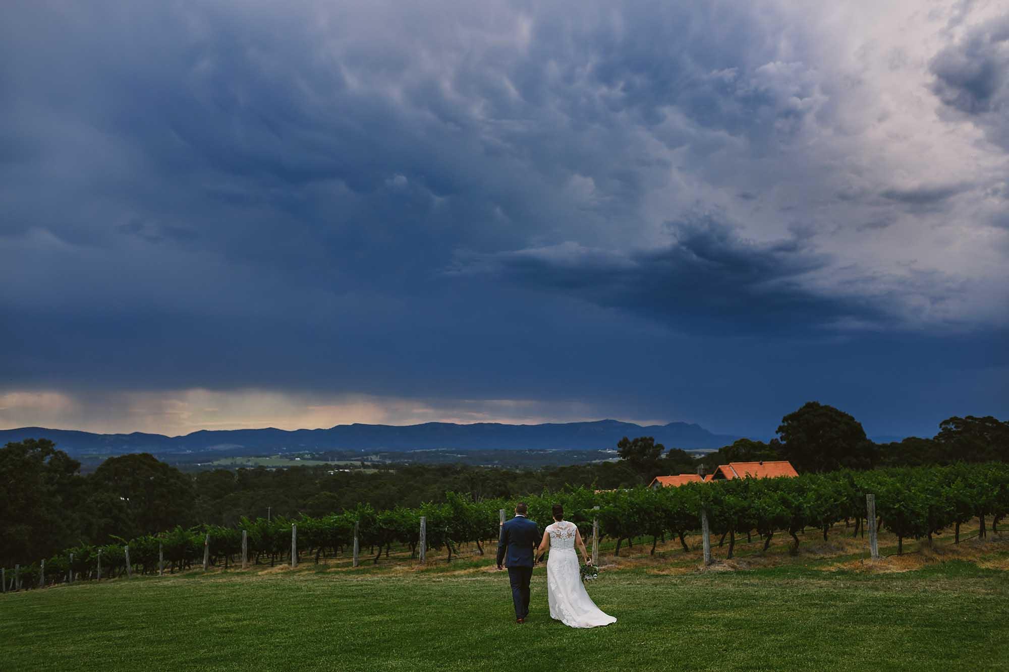 wandin valley wedding