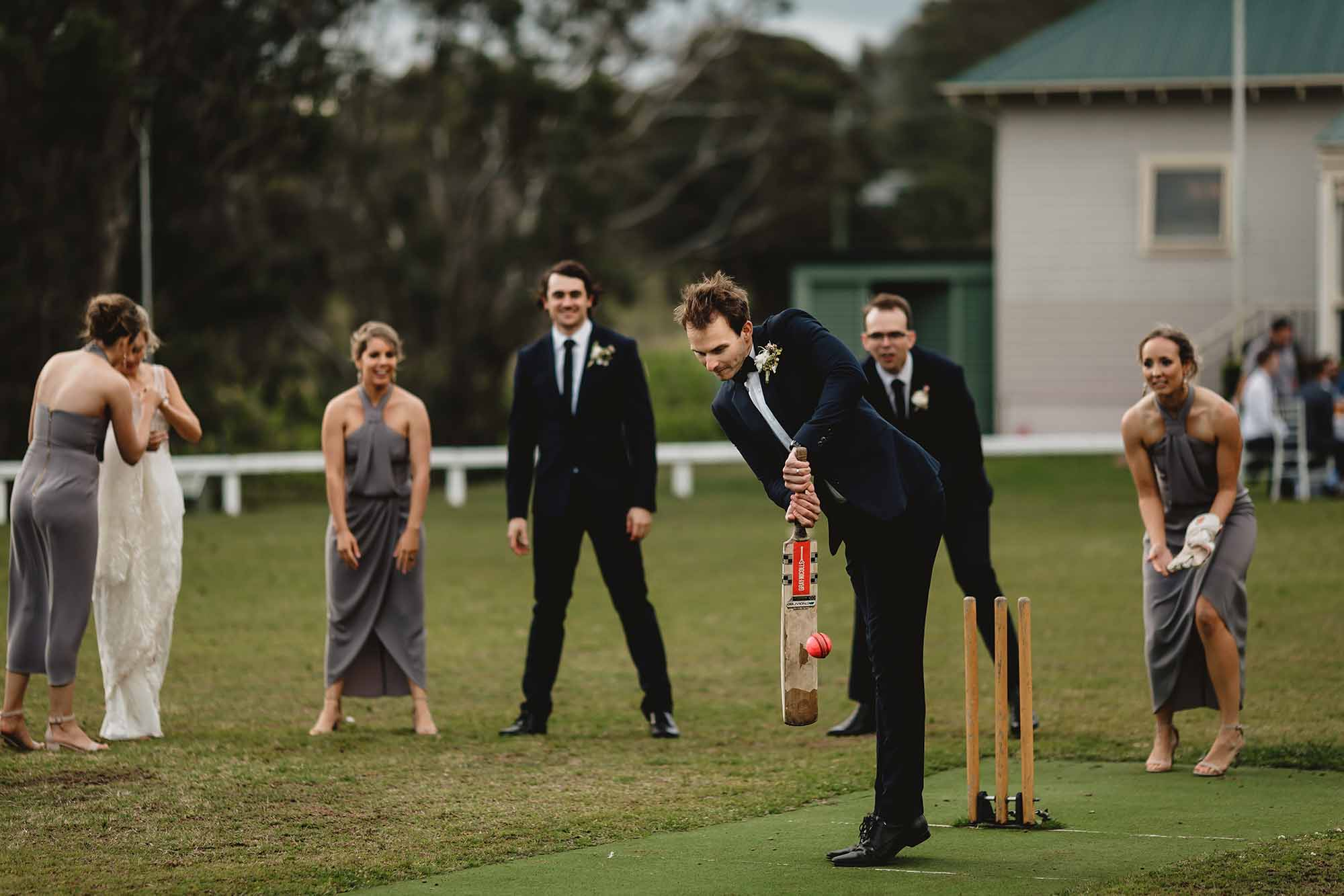 wandin wedding cricket match