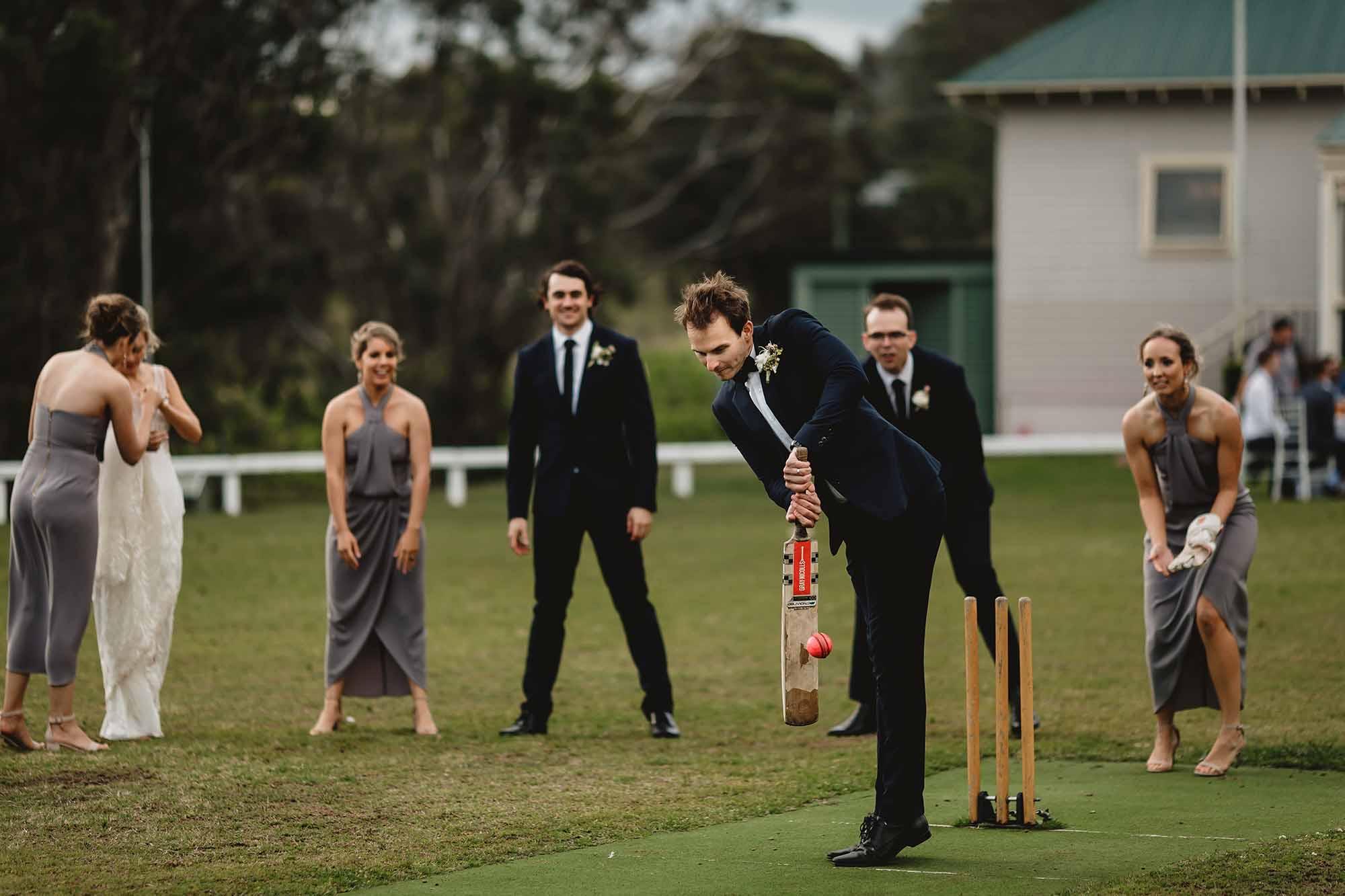 wandin wedding cricket match